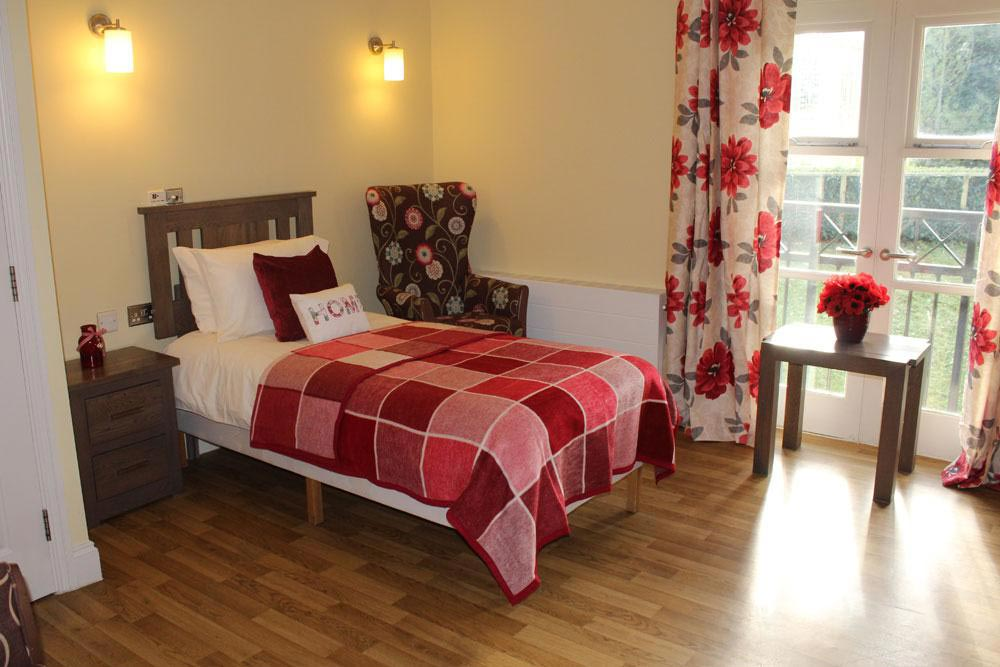 Bedroom at The New Deanery