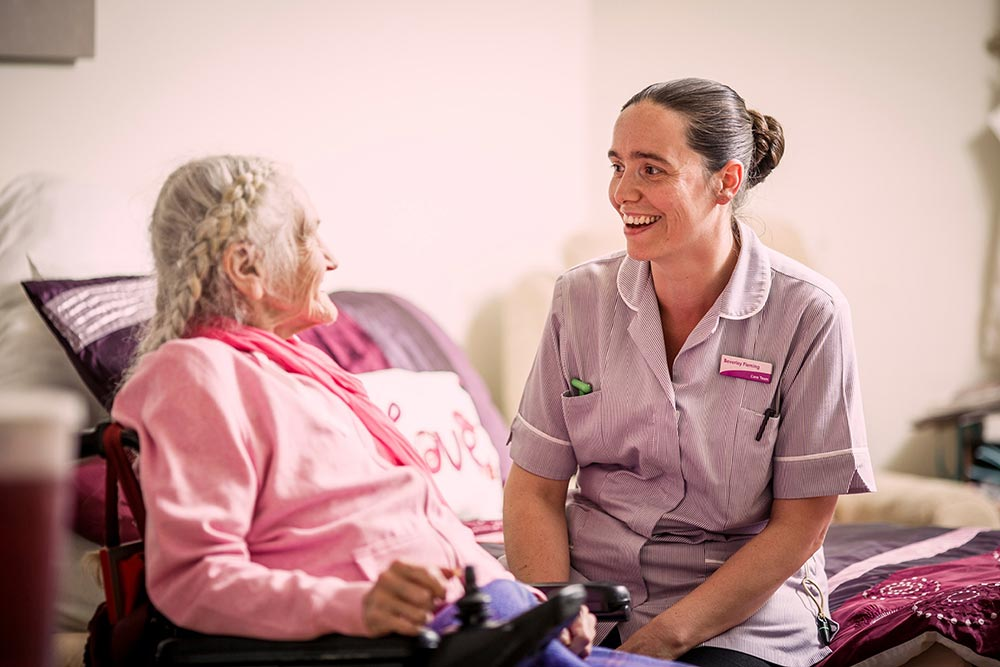 Resident and carer