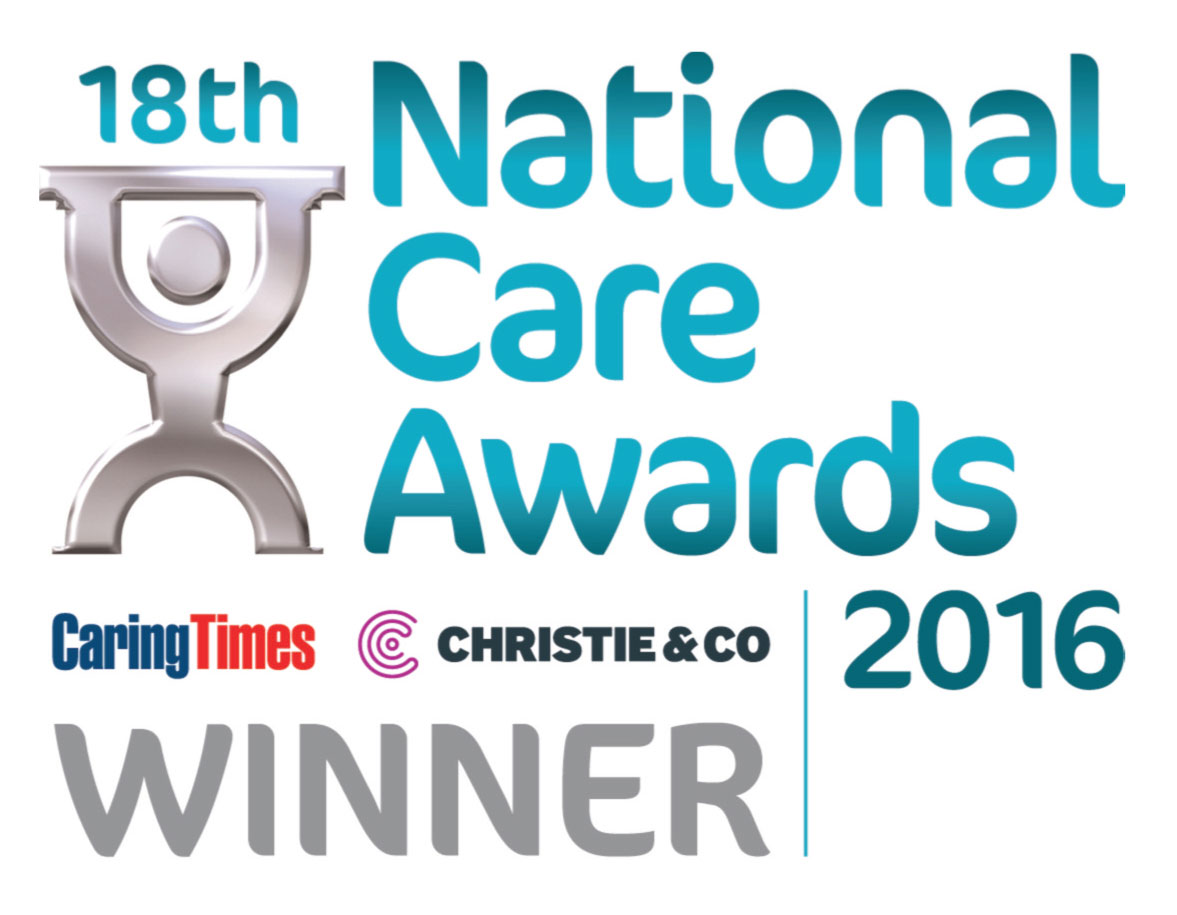 The New Deanery were winners at the National Care awards 2016