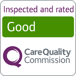 We're rated Good by the CQC in 2016