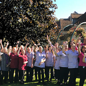 The care received at The New Deanery is award winning