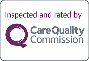We are rated good for residential care by the CQC